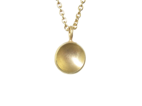 Clare Chandler- Dome Necklace in 9ct Yellow Gold
