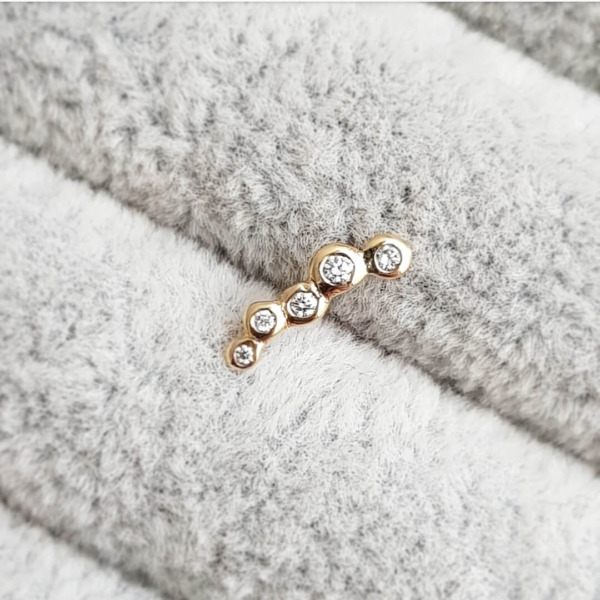Dots-Gold-DiamondStudEarring-x5