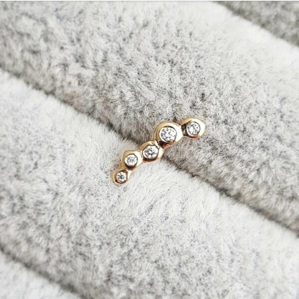 Dots-Gold-DiamondStudEarring-x5