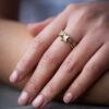 9ct Yellow Gold Star Stacking Ring Clifton Rocks Bristol