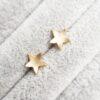 9ct Yellow Gold Star Earrings Clifton Rocks Bristol