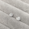 Baby Steps Diamond Studs in silver Anny Ching Chin Jewellery - Clifton Rocks Bristol