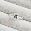 Square-Princess-Blue-Green-Teal-Sapphire-Solitaire-Engagement-Ring-Diamond-Pave-Clifton-Rocks-Bristol-Jewellery