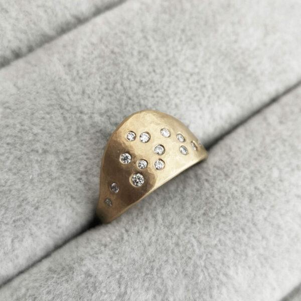 bib diamond ring Jane kenney clifton rocks bristol