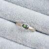 flat court oval green sapphire ring jacks turner clifton rocks bristol