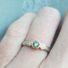 flat court trilogy green sapphire ring jacks turner clifton rocks bristol