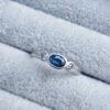 flat court trilogy oval blue sapphire ring jacks turner clifton rocks bristol
