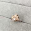 gatsby ring in rose gold katie Chapman clifton rocks bristol 3