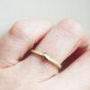 Floral-Stacking-Ring-Single-Leaf-Ring-Samantha-England-Clifton-Rocks-Bristol