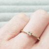 Yellow-Gold-Quartet-Beaded-Stacking-Ring-Diamonds-Anny-Ching-Chin-Clifton-Rocks-Bristol